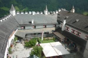 Burg Hohenwerfen und Jägersee 012